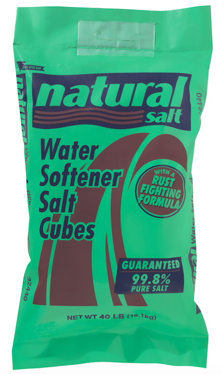 Water Softener With a Rust Fighting Formula | Natural Salt
